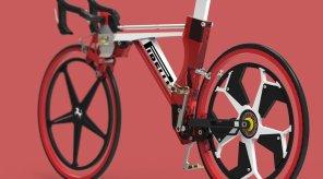 Представлен электрический велосипед  от Ferrari и Pirelli