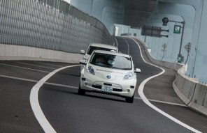 Nissan показал автопилотируемый электрокар Leaf
