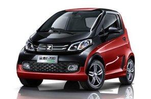 """В Китае представили электрический """"клон"""" Smart ForTwo - Zotye E200"""