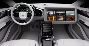 """В беспилотник Volvo проведут телевидение, чтобы """"водитель"""" не скучал"""