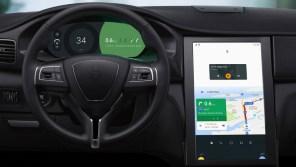 Google представил свой большой автомобильный планшет