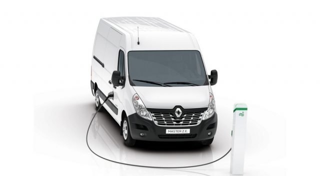 В Renault создали электрический фургон с запасом хода 200 километров