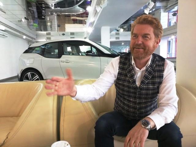 Гисли Гисласон: «В Украине грядет электромобильная революция, и мы не хотим быть в стороне»