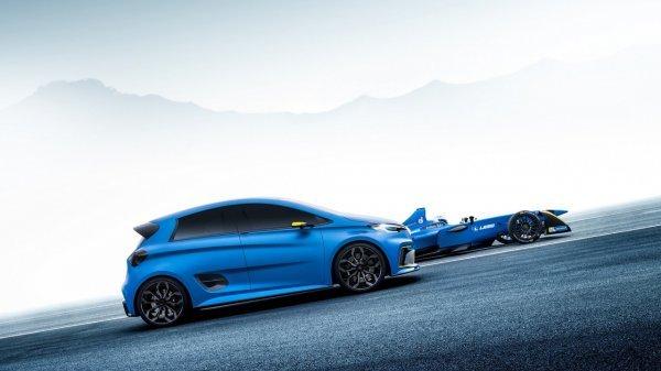 Быстрее Формулы: Из электромобиля Renault ZOE сделали гоночный болид