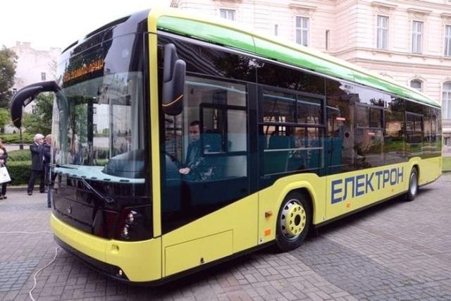 электроавтобусы львовского ОАО «Концерн Электрон»