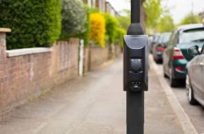Char.gy - система зарядки электромобилей от уличных  фонарей