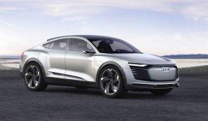 Божественный красавец: Audi представила электрический спортбэк E-Tron (фото)
