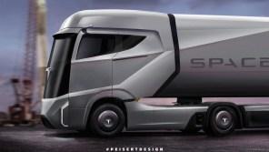 Новинки от Tesla: электрогрузовик, пикап и кабриолет