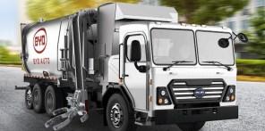 Электрический мусоровоз BYD сэкономит $13 000 в год