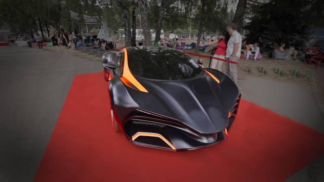 В Киеве представили украинский суперкар Himera Q за 700 тысяч евро: видео