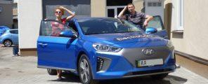 Электромобиль Hyundai Ioniq. Первый лонг-тест 1000 км по Украине