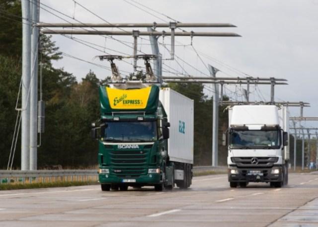 Siemens строит троллей для грузовиков в Германии