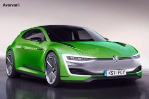Volkswagen сделает электромобиль из хот-хэтча Scirocco к 2020 году
