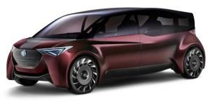 Представительский беспилотник: Toyota приготовила электрический люксовый минивэн на водороде