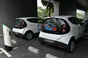 В Сингапуре появится первый каршеринг электромобилей