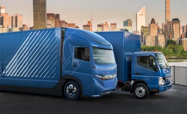 Раньше Tesla: Daimler представили полностью электрический грузовик