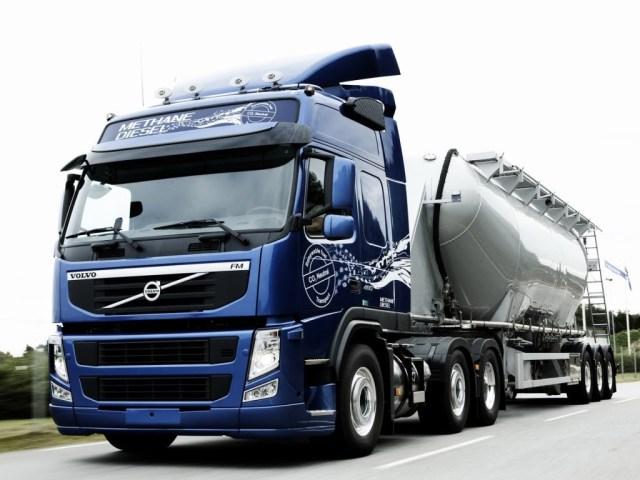 Ни бензина, ни дизеля: новые грузовики Volvo работают на альтернативном топливе