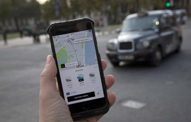 Uber внедрил отображение местонахождения в режиме реального времени
