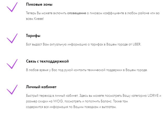 Uberdrive запустил бот в Viber для украинских водителей Uber