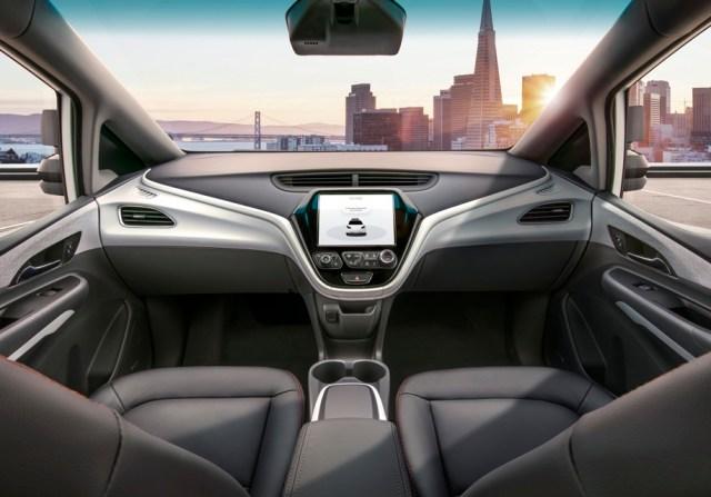 General Motors показали, как выглядит первый беспилотник без руля и педалей