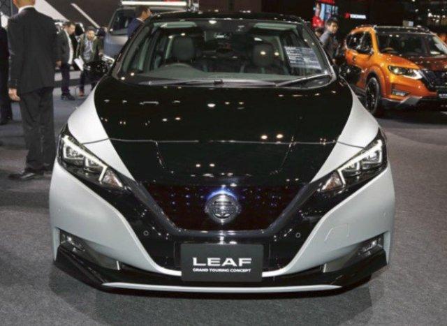 Японцы наконец показали Nissan Leaf Grand Touring