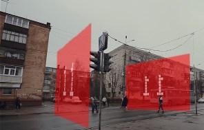 Радость и недоумение: В Чернигове представили концепт ультрасовременного светофора