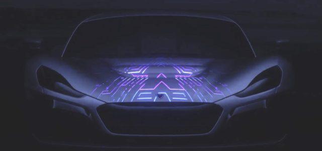 Хорваты показали первые кадры следующего поколения электрического суперкара Rimac