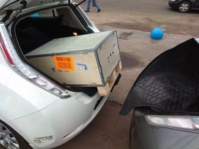 Винницкие электромобилисты сбросились и купили быструю электрозаправку на всех