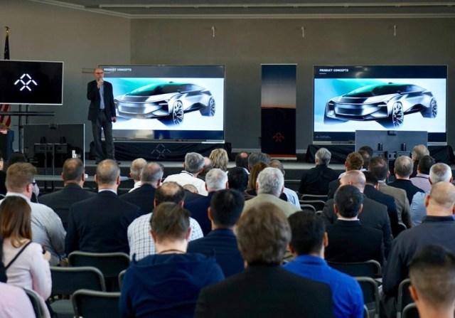 Faraday Future еще не выпустили первый автомобиль, но уже готовят второй