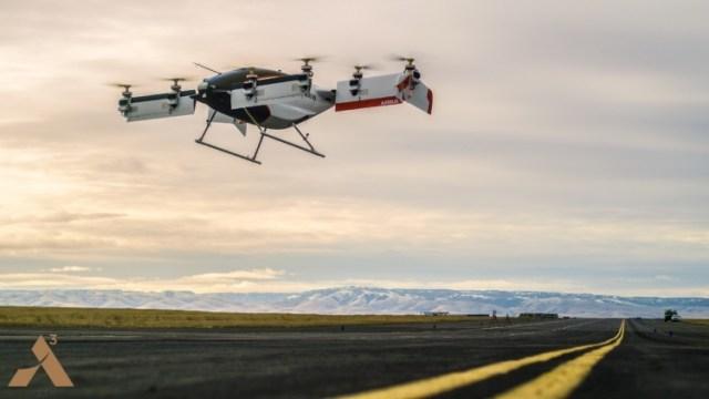 Беспилотное летающее такси Airbus впервые отправили в воздух