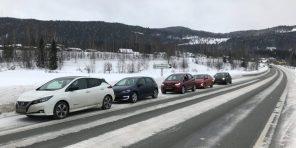 Норвежцы провели сравнительный тест 5 самых популярных электромобилей