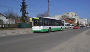 В Переяслав-Хмельницкий привезли электробус с запасом хода на целый день