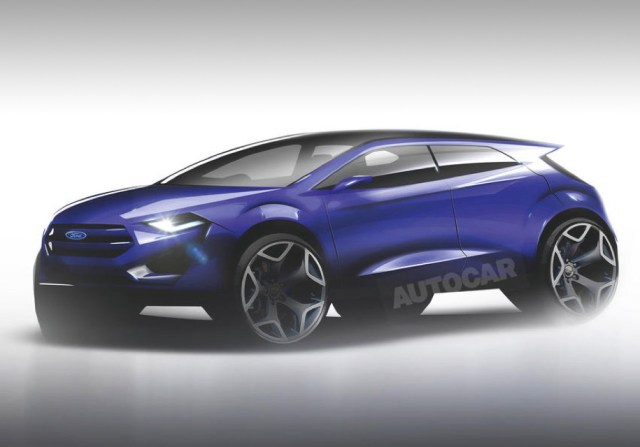 Ford готовит электрический кроссовер на платформе Focus