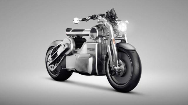 Два мотора на одном колесе: Curtiss Motorcycles представила концепт электробайка Zeus