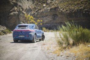 С мороза на жару: после Швеции Mercedes начал тесты электрокроссовера EQC в Испании