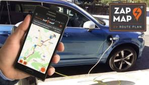 В карты электрозаправок добавили планировщик маршрутов для поездок на электромобиле