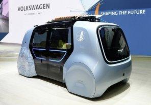 """Volkswagen показал беспилотный """"кубик"""" для спортсменов с функцией слежения за водителем и пассажирами"""