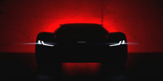 Audi готовит электрический суперкар e-tron: опубликован первый тизер