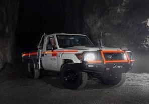 Австралийцы оснастили старый Land Cruiser электродвигателем и отправили под землю