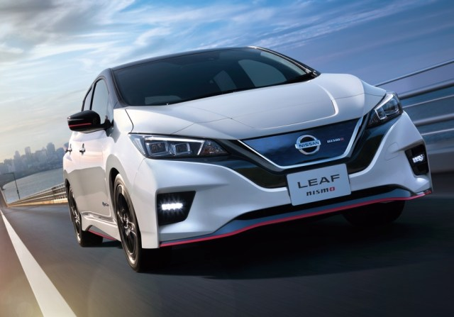"""Nissan выпустила в серию """"заряженный"""" электромобиль Leaf Nismo"""