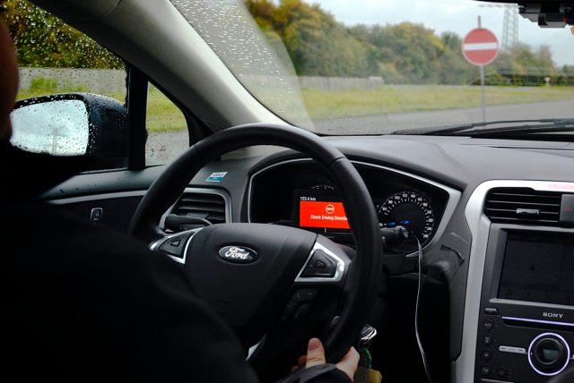 """Ford объявил войну """"призракам"""": новая система предупредит о выезде на """"встречку"""""""