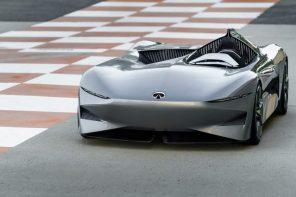 Поражает воображение: Infiniti представила одноместный электрический спидстер Prototype 10