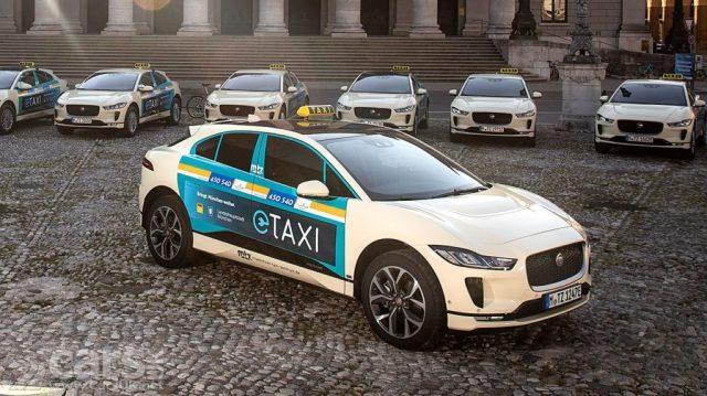 Jaguar i-Pace и шашечки: немецкие таксисты пересели на британские электромобили