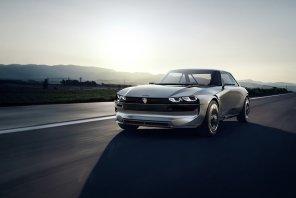 В Peugeot показали свой высокотехнологичный концепт-кар e-LEGEND CONCEPT
