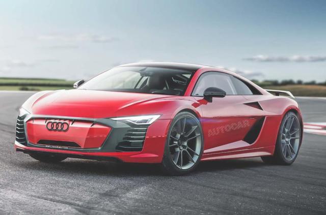 Попытка номер три: Audi R8 будет полностью электрическим