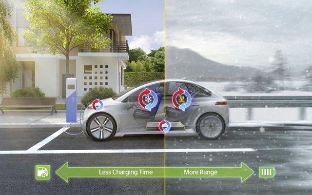 В Continental придумали, как электромобилям расходовать меньше энергии на климат-контроль