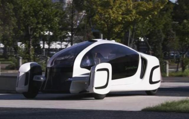 Без ГМО: в Японии представили электромобиль из пластика