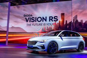 Спортивные модели будущего: Škoda представила концептуальный электрокар Vision RS