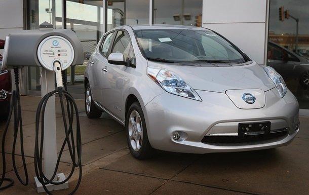Спрос на электромобили в Украине вырос в 2,4 раза: Nissan Leaf остается лидером