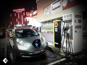 В Киеве открылась еще одна скоростная электрозаправка на Левом берегу от Electrocars